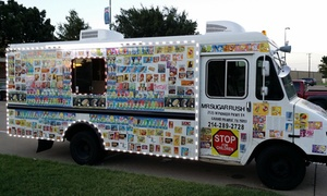 Mr. Sugar Rush: $6 for $10 Worth of Ice Cream — Mr. Sugar Rush -  Dallas Ice Cream Truck Of The Future Dallas Food Truck