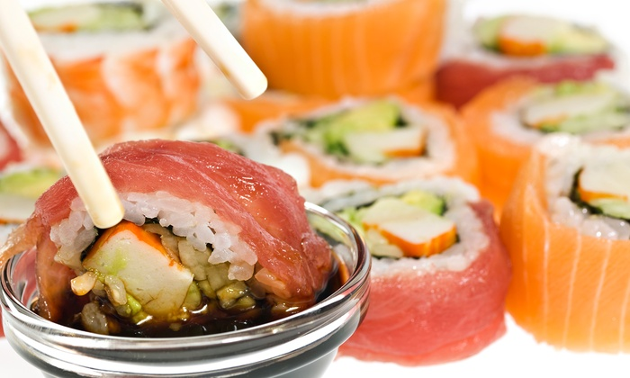 Sake Sushi - Sake Sushi: Sushi, Japanese Cuisine, and Fusion Sandwiches at Sake Sushi (Up to 47% Off). Four Options Available.