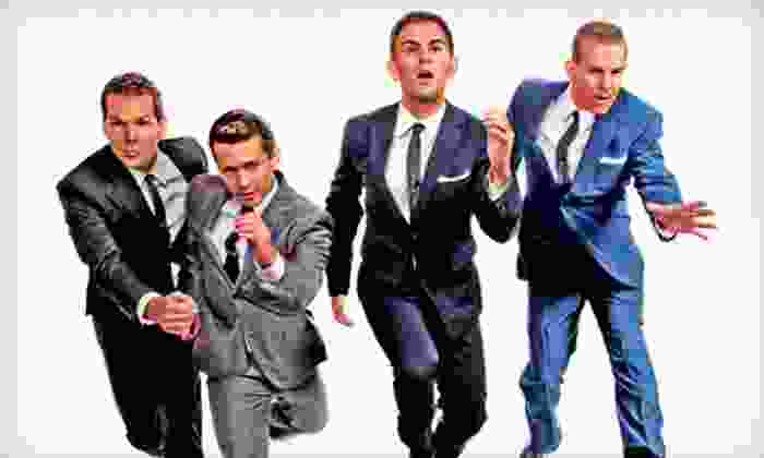 The Midtown Men - McGinley Square: The Midtown Men Concert at Saint Peter's PAC on Saturday, December 8, at 8 p.m. (Up to 33% Off). Two Options Available.