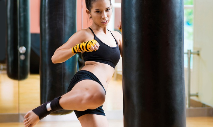 Invasion Athletix - Northgate: One or Three Months of Unlimited Women's Kickboxing Classes at Invasion Athletix (Up to 59% Off)