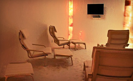 Three or Five 45-Minute Sea-Salt-Therapy Sessions at Sea Salt Therapy (Up to 74% Off)