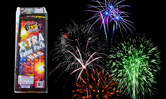 TNT Fireworks - Multiple Locations: $25 for a Fireworks Bundle at TNT Big Tent Vancouver ($83.99 Value)