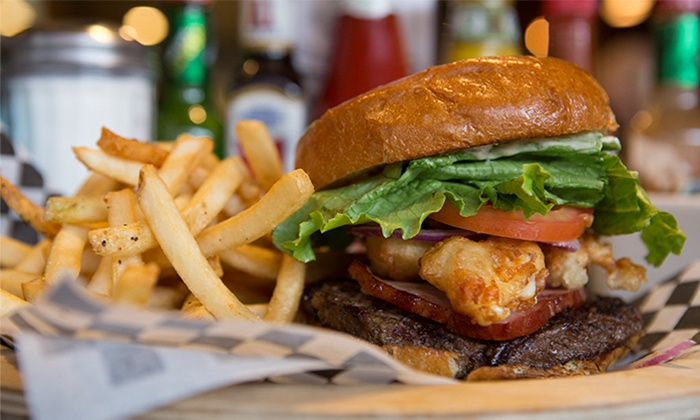 Lost Lake Cafe and Lounge - Broadway: American Cuisine at Lost Lake Cafe and Lounge (40% Off)