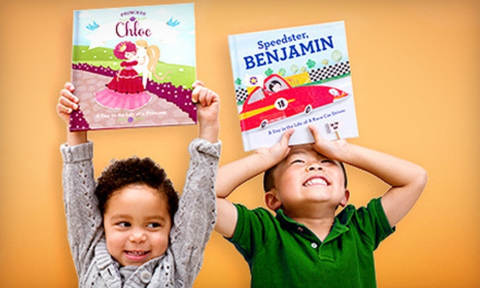 MyChronicleBooks: Personalized Kids' Books and Gifts from MyChronicleBooks (Up to 53% Off). Two Options Available.