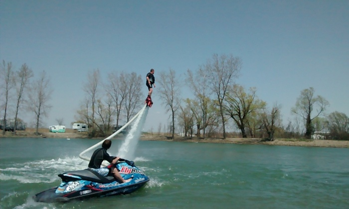 Grand Bend FlyBoard - Hyde Park: Up to 67% Off Flyboarding at Grand Bend FlyBoard