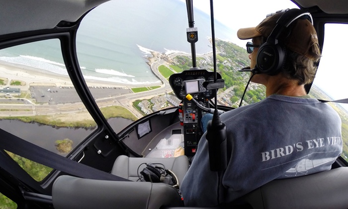 Bird's Eye View Helicopters - Middletown: Mansion Helicopter Tour from Bird's Eye View Helicopters (Up to 40% Off)