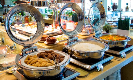 Lunch or Themed Dinner Buffet for Up to Six in Horizon at Khalidiya Palace Rayhaan by Rotana (Up to 57% Off)