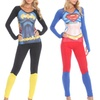 Batman, Catwoman, or Superman Undergirl Anatomical PJ Sets