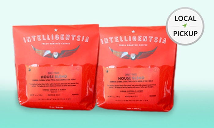 Calibrè Coffee - South Barrington: 2-Pack of 12 Oz. Intelligentsia House Blend Coffee. Pick Up in Store at Calibrè Coffee.