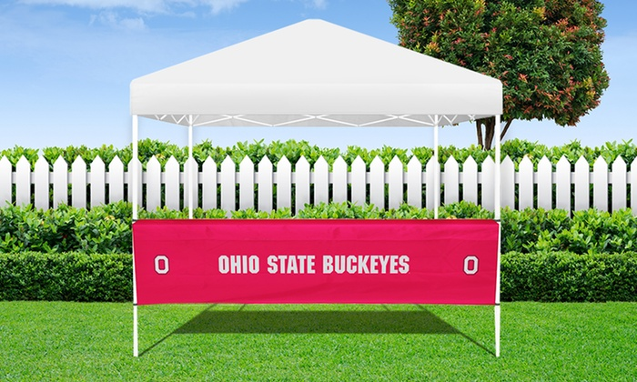 NCAA Bar Top Table Covers and Bar Top Tent Tables NCAA Bar Top Table Covers ... & NCAA Table Covers u0026 Tent Tables | Groupon Goods