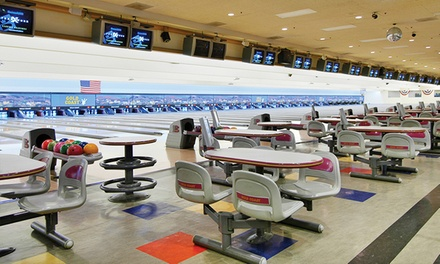 Three Games of Bowling and Shoe Rental for Two at One of Four Boyd Gaming Las Vegas Locations (Up to 42% Off)