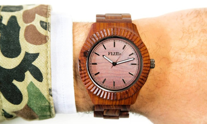 FLüD Watches: $90 or $150 Towards Watches, Bags, and Accessories from FLüD Watches (Up to 50% Off)