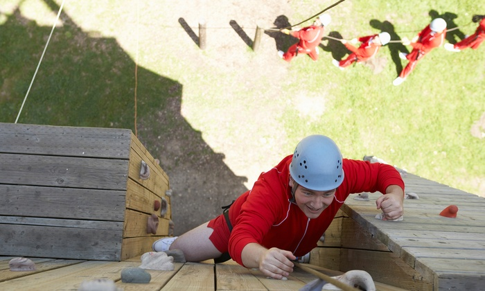 Ironwood Outdoor Center - Lumberton: 2.5-Hour Ropes-Course Adventure for One or Two at Ironwood Outdoor Center (50% Off)