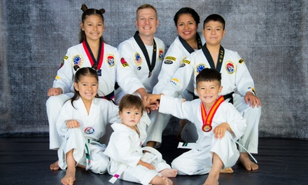 Five Martial Arts Classes at Kim's Academy (55% Off)