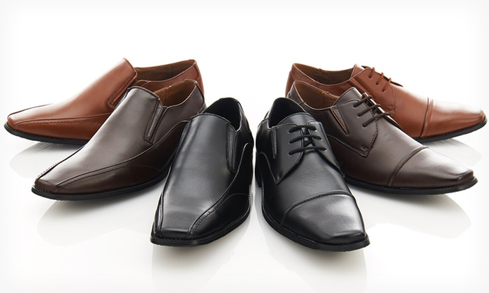 Franco Vanucci Men's Dress Shoes: $37.99 for Franco Vanucci Men's Dress Shoes ($100 List Price). Multiple Options Available. Free Shipping and Returns.