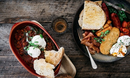 Brunch and Hot Drink for One ($14.50), Two ($29) or Four People ($58) at Monte Alto Eatery & Bar (Up to $98 Value)