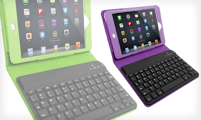 Hype Keyboard Folio for iPad Mini: $26 for a Hype Keyboard Folio for iPad Mini ($79.99 List Price). Five Colors Available. Free Shipping and Free Returns.