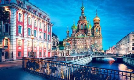 St. Petersburg: 4 Nächte für 1 oder 2 Personen inkl. Rundreise, Verpflegung, Eintrittenund Übernachtung im 4* Hotel