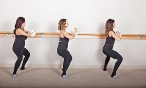 The Bar Method - Solana Beach: Three Fitness Classes or One Month of Unlimited Classes at The Bar Method (Up to 68% Off)