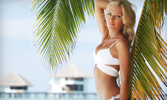 The Hot Spot Tanning Co. - Multiple Locations: One Month of Unlimited UV Tanning or Three Spray-Tan Sessions at The Hot Spot Tanning Co. in Palm Harbor (Up to 63% Off)