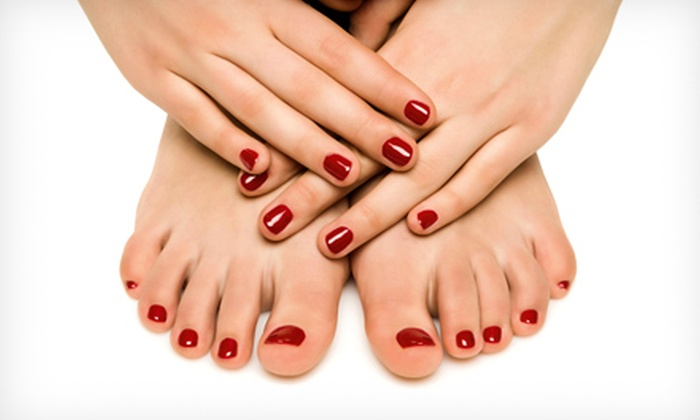 Jediva Salon & Spa - Kendall: $22 for a Mani-Pedi at Jediva Salon & Spa ($45 Value)
