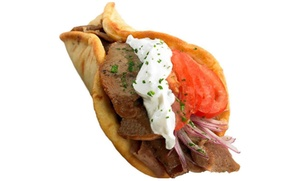 Petra Cafe: $12 for Two Groupons, Each Good for $10 Worth of Mediterranean Food at Petra Cafe ($20 Value)