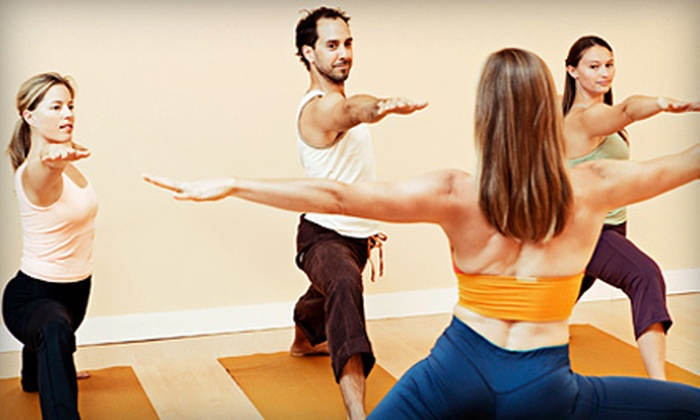 All About Yoga - Multiple Locations: 10 or 20 Yoga or Meditation Classes at All About Yoga (Up to 74% Off)