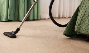 Carpet Shampoo: Home Carpet Cleaning Package for Two ($59), Four ($79) or Five Bedrooms ($89) with Carpet Shampoo (Up to $214 Value)