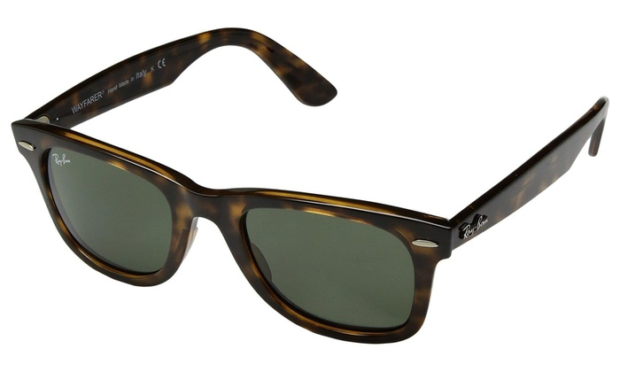 e2012f81dc Ray Ban Wayfarer RB4340 710 50MM Tortoise   Green 50mm Sunglasses RB4340 -710-50   Tortoise   Green