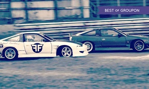 Flatout Factory: Drift Passenger Ride Experience: Six (from £20) or Twelve (from £35) Hot Laps at Flatout Factory (Up to 57% Off)