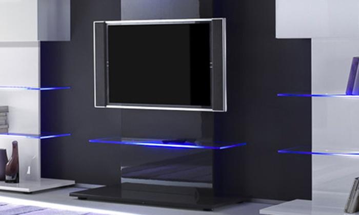 Torre Porta Tv.Parete Porta Tv Di Design Groupon Goods