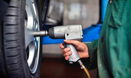 $25 for $55 Worth of Tire Rotation  Santa Barbara Tire And Service Center