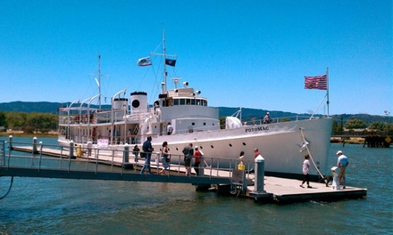 Guided Tour for Two, Four, or Six of the USS Potomac: FDR's Presidential Yacht (Up to 50% Off )