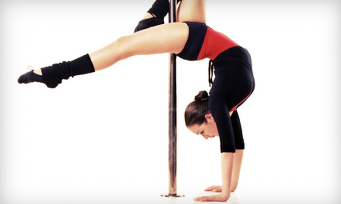 Tucson Pole Fitness - Tucson Pole Fitness: $26 for a Dance Package with an Intro to Pole Class and Week of Pole-Dance Classes at Tucson Pole Fitness ($55 Value)
