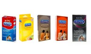 6 pacchi di condom Durex