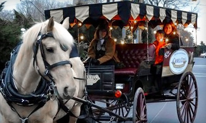 Camel City Carriage Company - At Old 4th St. Filling Station Restaurant: $15 for a 25-Minute Horse-Drawn Carriage Ride for Two from Camel City Carriage Company ($30 Value)