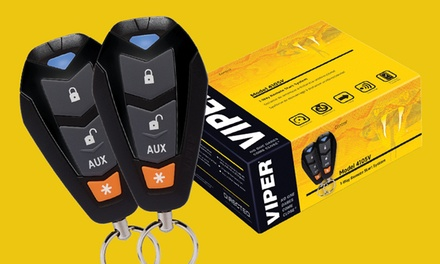 $262 for Viper Automatic Remote Car Starter with Installation at Underground Autosound ($499 Value)