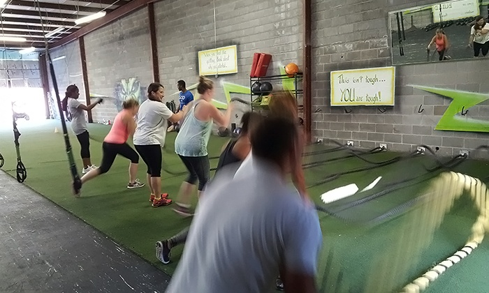 Squad Fitness - Multiple Locations: Up to 92% Off boot camp at Squad Fitness