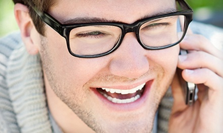 Complete Pair of Eyeglasses with Option for Eye Exam at Dr. William Townsend, Optometrist (Up to 78% Off)