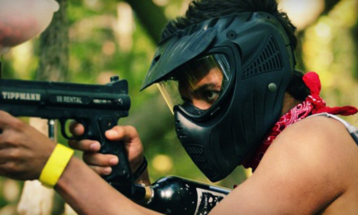 Lone Wolf Paintball - Lone Wolf Paintball Indoor Field: Paintball for 2, 4, 8, or 10 at Lone Wolf Paintball (Up to 61% Off)
