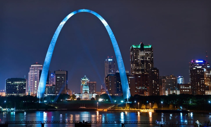 Ramada Plaza Hotel St. Louis - St. Louis, MO: One-Night Stay for Up to Four at the Ramada Plaza Hotel St. Louis