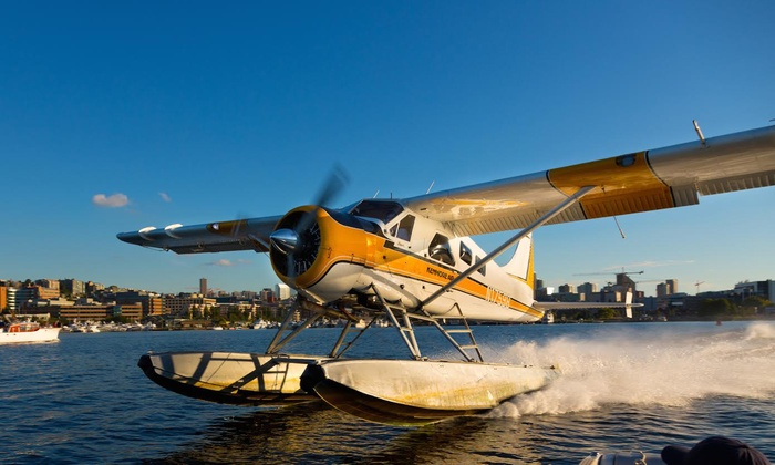 Kenmore Air - Lake Union: Narrated 20-Minute Scenic Flight Tour Over Seattle for One or Two with Kenmore Air (16% Off)