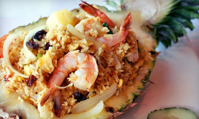 Buddha Thai Bistro - Jacksonville Beach: Dinner for Two or Four at Buddha Thai Bistro (Up to 59% Off). Four Options Available.