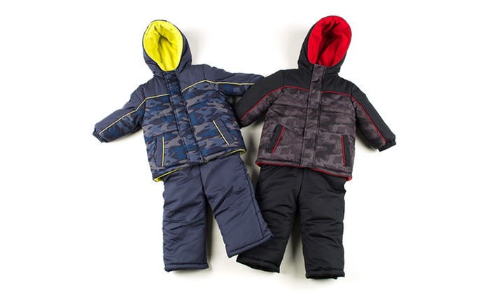 iXtreme Toddler's Camo Snowsuit: iXtreme Toddler's and Little Boy's Camo Snowsuit. Multiple Colors Available. Free Shipping and Returns.