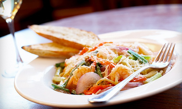 Bocci Trattoria & Pizzeria - Multiple Locations: Italian Food for Dinner or Lunch at Bocci Trattoria & Pizzeria (Half Off)