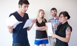 Atwater Playhouse: Two or Four On-Camera Acting Classes at Atwater Playhouse (Up to 54% Off)
