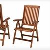 $139.99 for 2 Tahoe Hardwood Outdoor Chairs