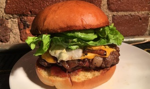 New American Cuisine And Drinks At Garageland (38% Off). Two Options Available.