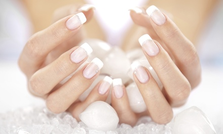 Gel French Manicure ($32), Pedicure ($35) or Both ($59) at Ujeans Spa and Beauty (Up to $160 Value)