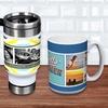 Up to 55% Off a Custom Photo Mug